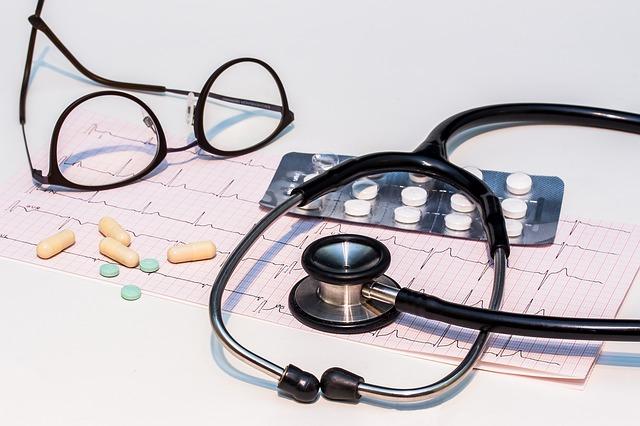 Medical tools and pills