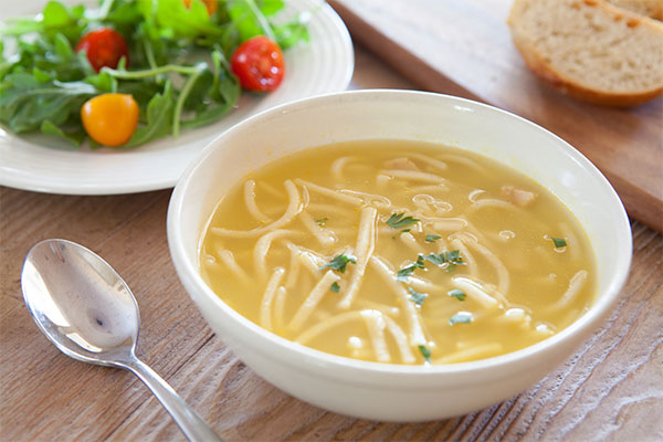Christmas Chicken Noodle Soup